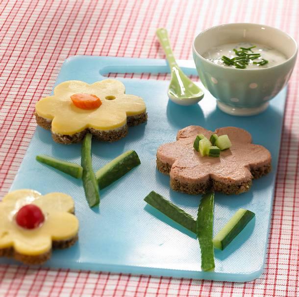 Brot-Blüten Rezept