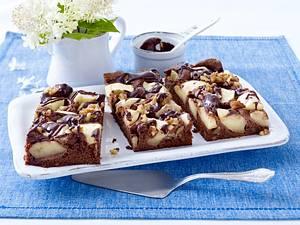 Brownie-Apfelkuchen Rezept