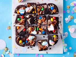 "Brownie ""Candy-Konfetti"" Rezept"
