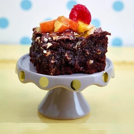 Brownie mit Zucchini Rezept