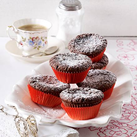 Brownie-Muffins Rezept