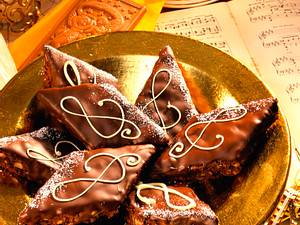 Brownie-Rauten Rezept