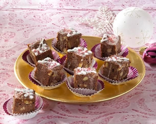 Brownie-Würfel Rezept