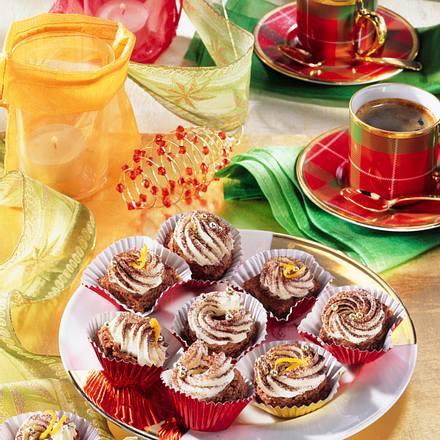 Brownies mit Orangen-Buttercreme Rezept