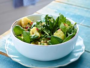 Brunnenkresse-Kartoffel-Salat Rezept