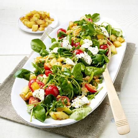 Brunnenkresse-Linsen-Salat Rezept