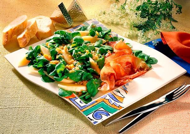 Brunnenkresse-Melonensalat Rezept
