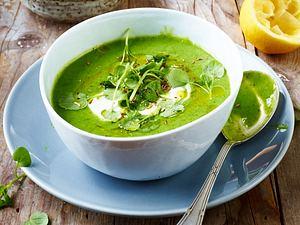 Brunnenkresse-Suppe Rezept