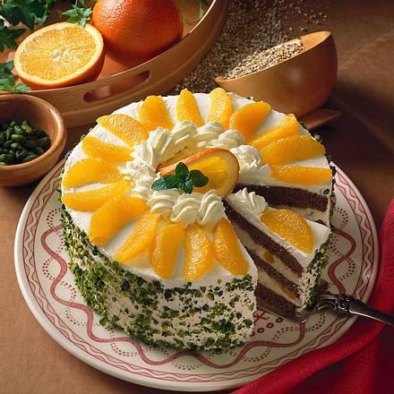 Buchweizen-Orangen-Torte Rezept