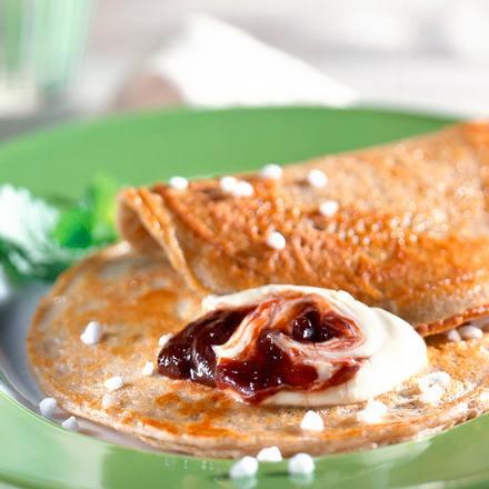 Buchweizen-Pfannkuchen Rezept