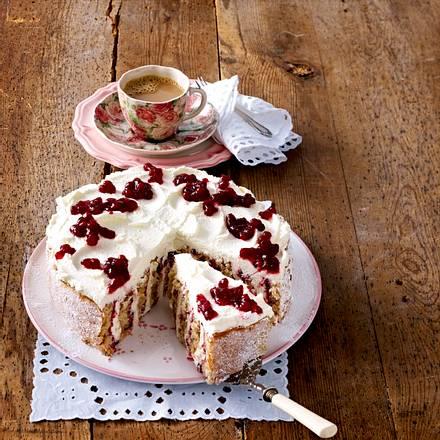 Buchweizen-Preiselbeer-Torte Rezept