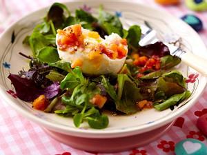 Büffelmozzarella mit Papaya-Parmaschinken-Salsa Rezept