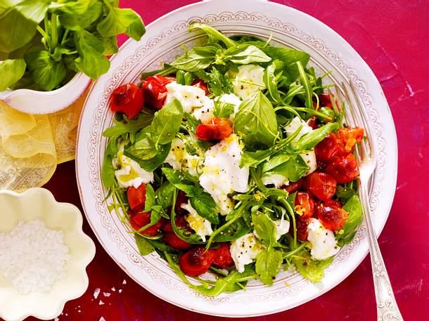 Büffelmozzarella-Salat Rezept