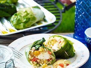 Bulgur-Gemüse-Päckchen Rezept