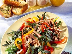 Bunt gemischter Tofu-Salat Rezept