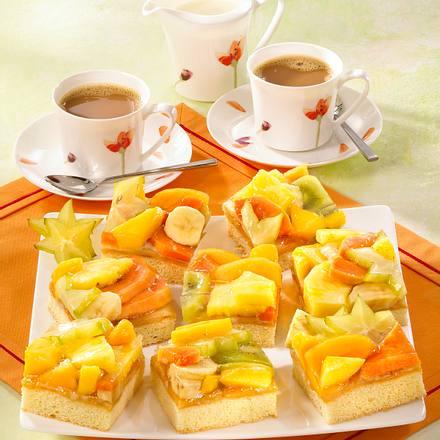 Bunte Fruchtschnitten (Diabetiker) Rezept