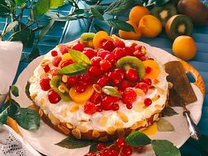 Bunte Fruchttorte Rezept