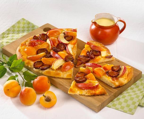 Bunte Früchte-Pizza Rezept