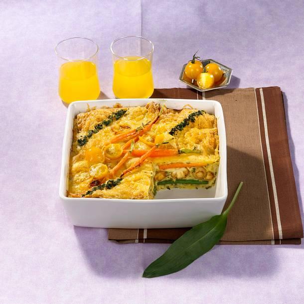Bunte Gemüse-Lasagne Rezept