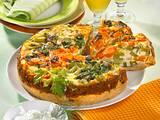 Bunte Gemüse-Quiche Rezept
