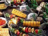 Bunte Gemüsespieße Rezept