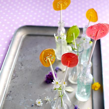 Bunte Lollies Rezept