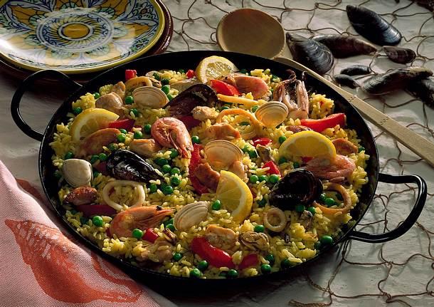 Bunte Paella Rezept