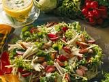 Bunter Blattsalat mit Kerbel-Joghurt-Soße Rezept
