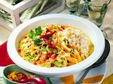 Bunter Curry-Reis mit Gemüse Rezept