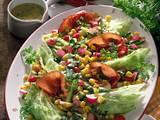 Bunter Frühlingssalat mit Schinken Rezept