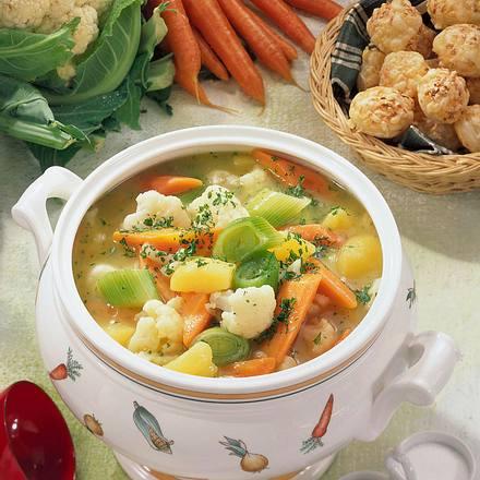 Bunter Gemüse-Eintopf Rezept