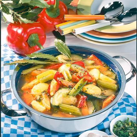 Bunter Gemüsetopf Rezept