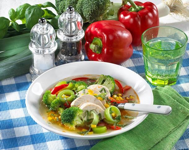 Bunter Gemüsetopf mit Hähnchenbrust Rezept