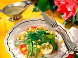 Bunter Salat-Teller Rezept