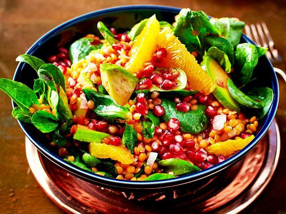 Bunter Winter-Salat Rezept