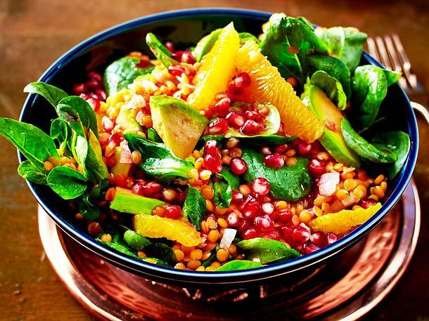 Bunter Winter-Salat