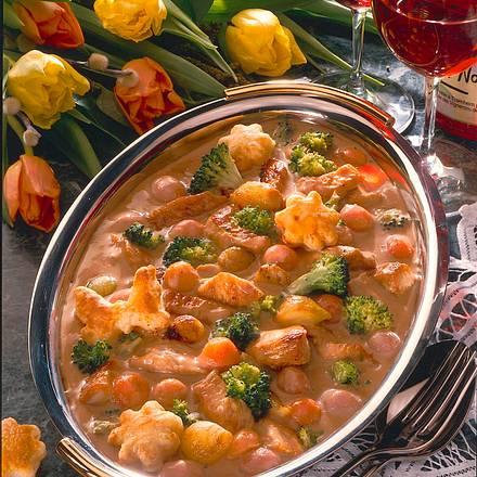 Buntes Puten-Gemüse-Ragout Rezept