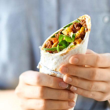 Burrito mit Feldsalat Rezept