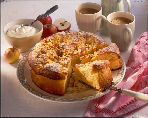 Butter-Apfelkuchen Rezept