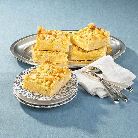 Butter-Streuselkuchen mit Mandeln Rezept