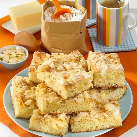 Butterkuchen mit Mandelblättchen Rezept