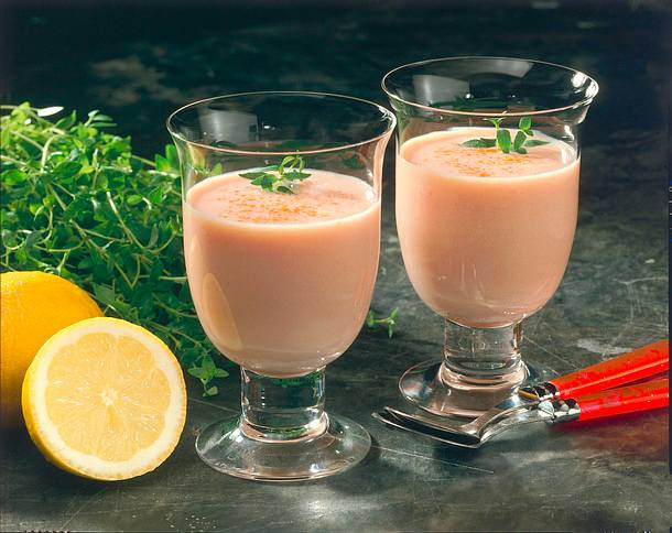 Buttermilch-Gemüse-Drink Rezept