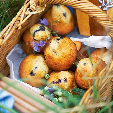 Buttermilch-Muffins mit Heidelbeeren Rezept