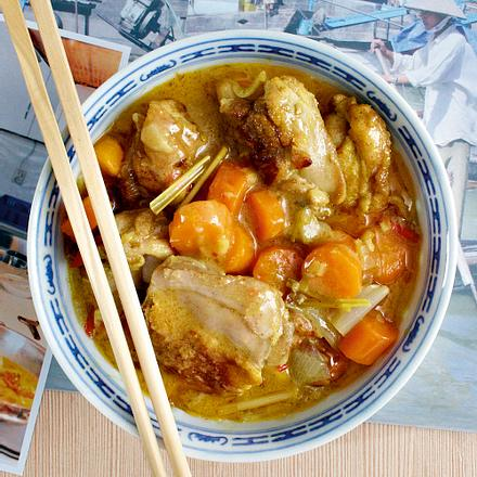 Cà ri gà (Vietnamnesisches gelbes Hähnchen-Curry) Rezept