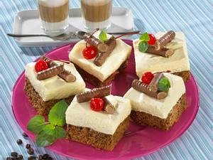 Cafe-Latte-Blechkuchen Rezept