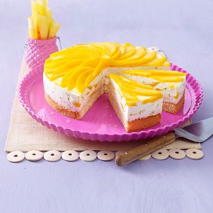 Caipirinha-Torte mit Mangopüree Rezept