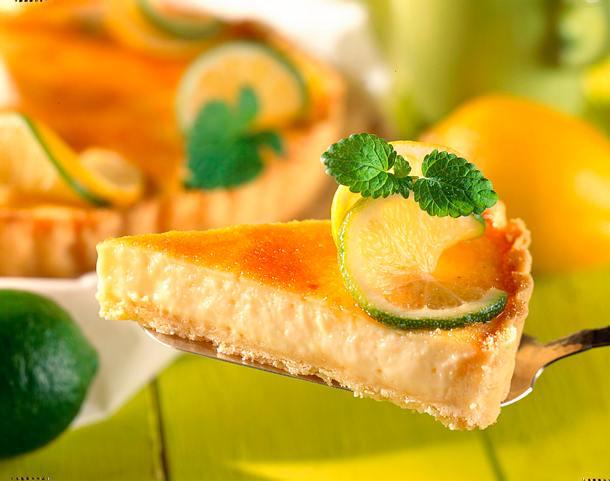 Caipirinha-Torte (Zitronen-Mandel-Torte) Rezept