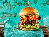"Californian Burger ""Surf & Turf"" Rezept"
