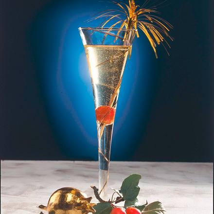 Calvados-Apfel-Sekt Drink Rezept