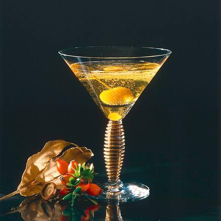 Calvados mit Sekt Rezept